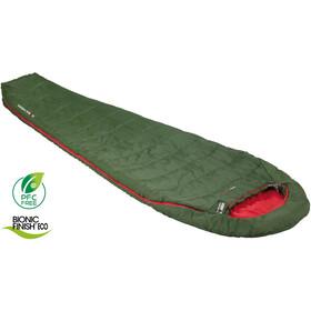 High Peak Pak 1000 Schlafsack pesto/red